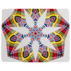 Colorful Chromatic Psychedelic Jigsaw Puzzle Photo Stand (rectangular)