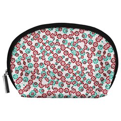 Multicolor Graphic Pattern Accessory Pouches (large)