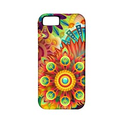 Colorful Abstract Pattern Kaleidoscope Apple Iphone 5 Classic Hardshell Case (pc+silicone)