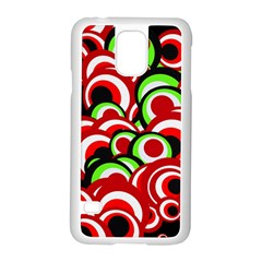Retro Pattern 1973c Samsung Galaxy S5 Case (white)