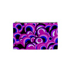 Retro Pattern 1973d Cosmetic Bag (small)