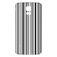 Barcode Samsung Galaxy S5 Back Case (white)