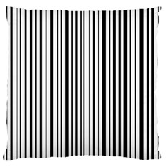 Barcode Standard Flano Cushion Case (two Sides)