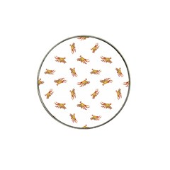 Crabs Photo Collage Pattern Design Hat Clip Ball Marker (4 Pack)