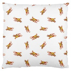 Crabs Photo Collage Pattern Design Standard Flano Cushion Case (one Side)