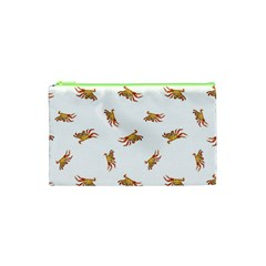 Crabs Photo Collage Pattern Design Cosmetic Bag (xs)