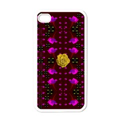 Roses In The Air For Happy Feelings Apple Iphone 4 Case (white)