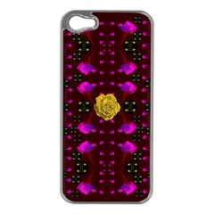 Roses In The Air For Happy Feelings Apple Iphone 5 Case (silver)