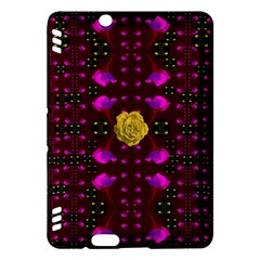Roses In The Air For Happy Feelings Kindle Fire Hdx Hardshell Case