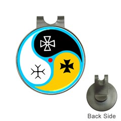 Assianism Symbol Hat Clips With Golf Markers