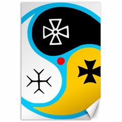 Assianism Symbol Canvas 20  X 30