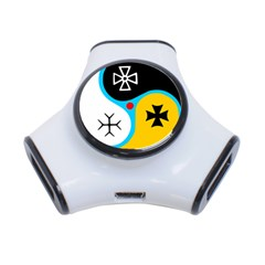 Assianism Symbol 3 Port Usb Hub