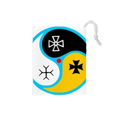Assianism Symbol Drawstring Pouches (small)