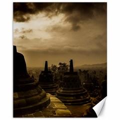 Borobudur Temple Indonesia Canvas 11  X 14