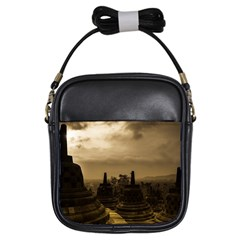 Borobudur Temple Indonesia Girls Sling Bags