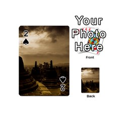 Borobudur Temple Indonesia Playing Cards 54 (mini)