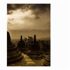 Borobudur Temple Indonesia Small Garden Flag (two Sides)