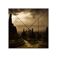 Borobudur Temple Indonesia Acrylic Tangram Puzzle (4  X 4 )