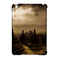Borobudur Temple Indonesia Apple Ipad Mini Hardshell Case (compatible With Smart Cover)