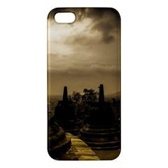 Borobudur Temple Indonesia Iphone 5s/ Se Premium Hardshell Case