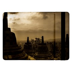 Borobudur Temple Indonesia Samsung Galaxy Tab Pro 12 2  Flip Case