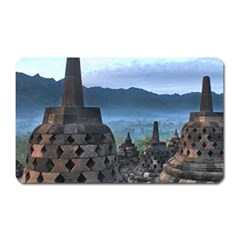 Borobudur Temple  Morning Serenade Magnet (rectangular)