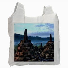 Borobudur Temple  Morning Serenade Recycle Bag (one Side)