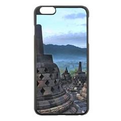 Borobudur Temple  Morning Serenade Apple Iphone 6 Plus/6s Plus Black Enamel Case