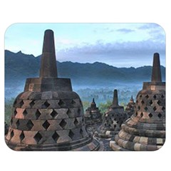 Borobudur Temple  Morning Serenade Double Sided Flano Blanket (medium)