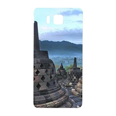 Borobudur Temple  Morning Serenade Samsung Galaxy Alpha Hardshell Back Case