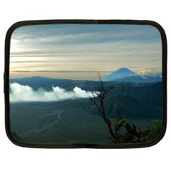 Bromo Caldera De Tenegger  Indonesia Netbook Case (large)