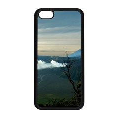 Bromo Caldera De Tenegger  Indonesia Apple Iphone 5c Seamless Case (black)