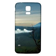 Bromo Caldera De Tenegger  Indonesia Samsung Galaxy S5 Back Case (white)