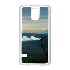 Bromo Caldera De Tenegger  Indonesia Samsung Galaxy S5 Case (white)
