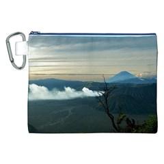 Bromo Caldera De Tenegger  Indonesia Canvas Cosmetic Bag (xxl)