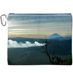 Bromo Caldera De Tenegger  Indonesia Canvas Cosmetic Bag (xxxl)
