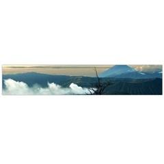 Bromo Caldera De Tenegger  Indonesia Flano Scarf (large)