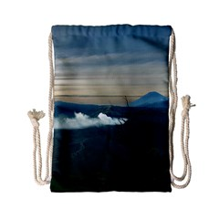 Bromo Caldera De Tenegger  Indonesia Drawstring Bag (small)