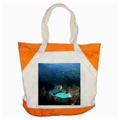 Kelimutu Crater Lakes  Indonesia Accent Tote Bag