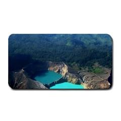 Kelimutu Crater Lakes  Indonesia Medium Bar Mats