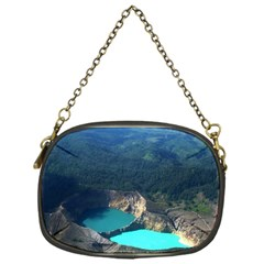 Kelimutu Crater Lakes  Indonesia Chain Purses (one Side)