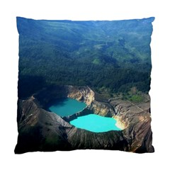 Kelimutu Crater Lakes  Indonesia Standard Cushion Case (two Sides)