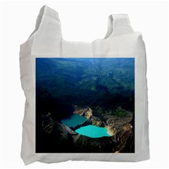 Kelimutu Crater Lakes  Indonesia Recycle Bag (two Side)