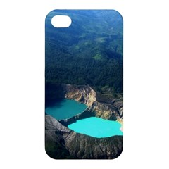 Kelimutu Crater Lakes  Indonesia Apple Iphone 4/4s Premium Hardshell Case