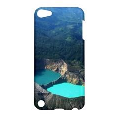 Kelimutu Crater Lakes  Indonesia Apple Ipod Touch 5 Hardshell Case
