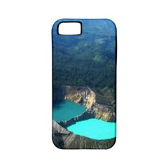Kelimutu Crater Lakes  Indonesia Apple Iphone 5 Classic Hardshell Case (pc+silicone)