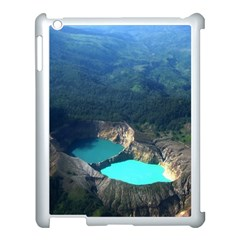 Kelimutu Crater Lakes  Indonesia Apple Ipad 3/4 Case (white)