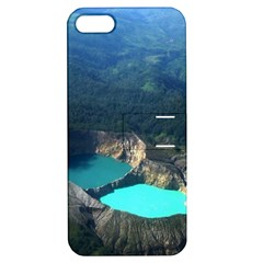 Kelimutu Crater Lakes  Indonesia Apple Iphone 5 Hardshell Case With Stand