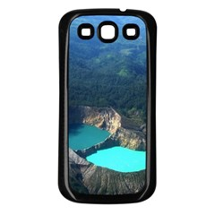Kelimutu Crater Lakes  Indonesia Samsung Galaxy S3 Back Case (black)