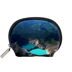 Kelimutu Crater Lakes  Indonesia Accessory Pouches (small)
